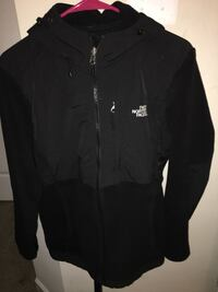 black The North Face zip-up jacket Clarksburg, 20871
