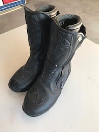 Men's motorcycle boots size 8