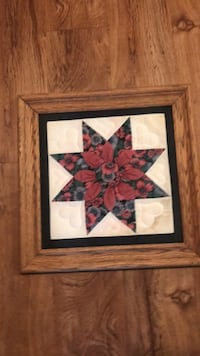 red and white flower painting New Iberia, 70560