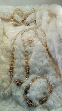 Handmade necklace sets $60.00 each