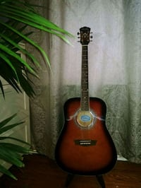 George Washburn Limited Acoustic Guitar- includes accessories Cambridge, N1R 5S5
