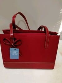 red leather 2-way handbag Frederick