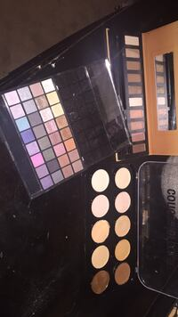 3 for $25 barely used. Includes contour and highlight, two eyeshadow palettes (one is elf) Surrey, V3S 3J4
