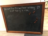 Pottery Barn Magnetic Chalk board Alexandria, 22308