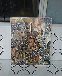 Million Man March canvas collage