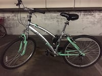 black and green hardtail mountain bike Los Angeles, 90048