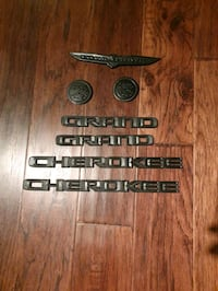 2 set of Jeep emblems  Woodbridge