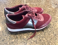 Coach sneakers size 7.5 worn once 757 mi