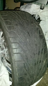 20inch rims and fresh tires ( fit any 5 bolt ) Toronto, M1M 1R4