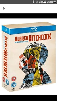 alfred hitchcock blu ray box set  Delta, V4K 1S8