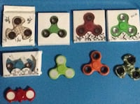 9 different coloured fidjit spinners Waterloo, N2L 4T1