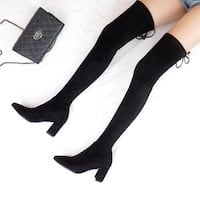 Over the knee boots Black San Francisco, 94112