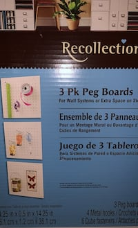 3Peg Boards by Recollections