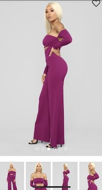 Off shoulder jumpsuit Fort Washington, 20744