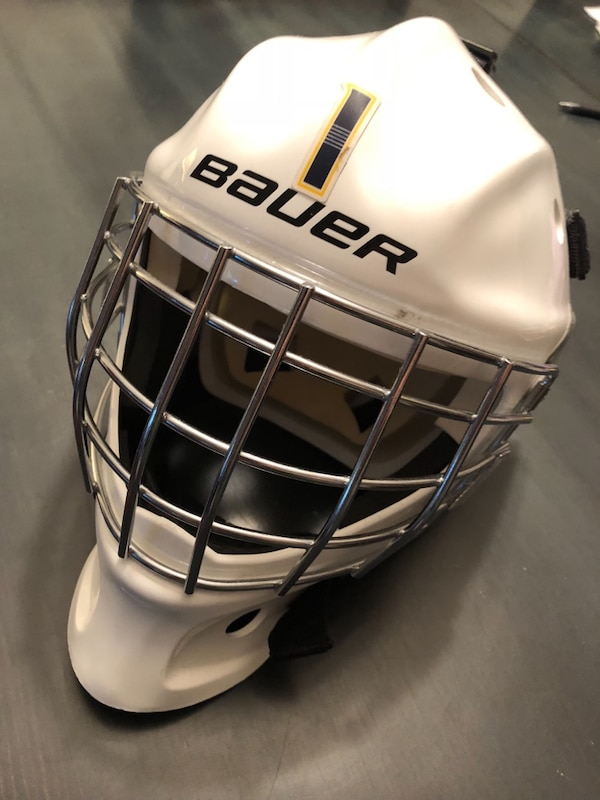 Used Ice Hockey Goalie Mask Bauer Nme3yth For Sale In Vancouver