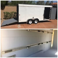 LowPriceIlovemeExcellent Trailer 2004 Loadrunner Enclosed Ramp 16 X 7 Salt Lake City