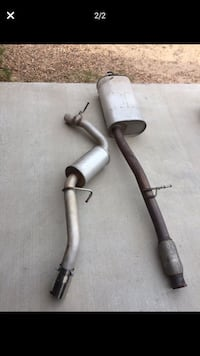 Chevy Stock exhaust muffler  Sytem, only six Months  old, value $130 Santa Fe, 87507