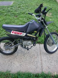 black and green Kawasaki motocross dirt bike Germantown, 20874