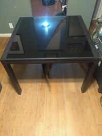 Extendable tempered glass table Los Angeles, 90001