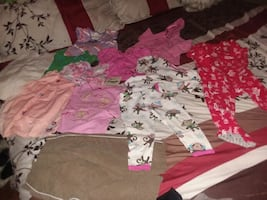 Little Girls all size 18 months 10pc clothing lot