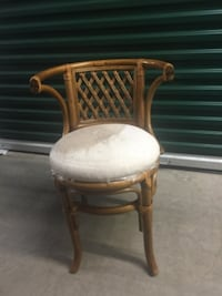 Bamboo chair null