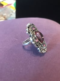 Beautiful Vintage silver lavender Stone Ring Gainesville, 20155