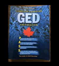 Brand New GED Book.  London