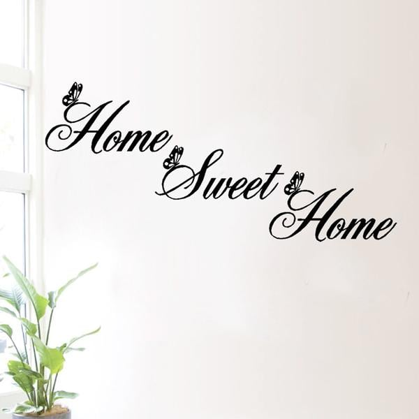 Brand New - Home Sweet Home Inspirational Quote Wall Decal