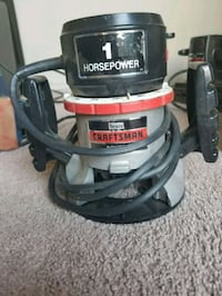 black and gray Craftsman wet and dry vacuum cleaner 2284 mi