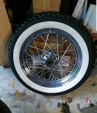 2006 Harley Softail front rim and tire Markham, L3R 8G5