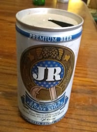 Vintage JR Ewing's Private Stock Beer Can  Indianapolis, 46201