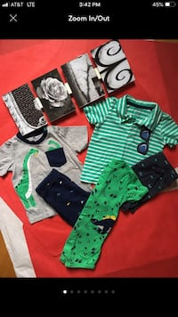 ⭐-18-MONTH-CARTERS-8-PIECE LOT⭐ Chicopee, 01020