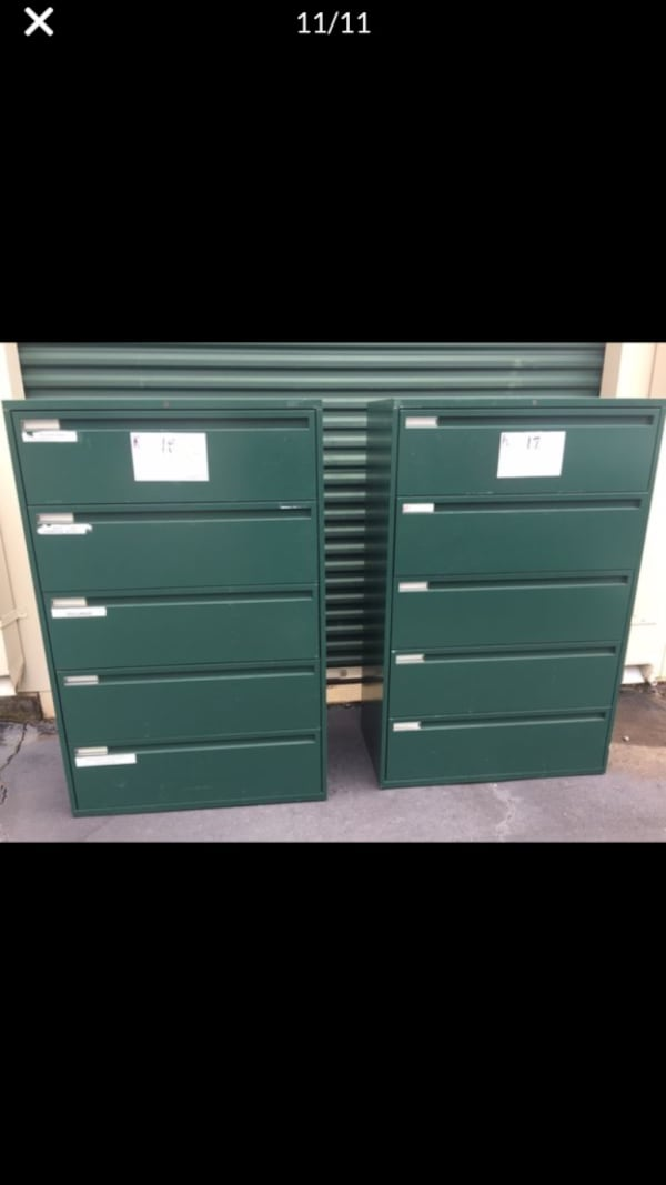 2-3-4-5-6 Drawer Lateral File Cabinets 2