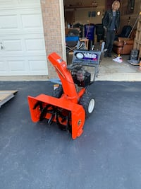 Ariens commercial snow blower