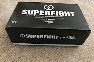 Superfight card game Core pack
