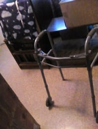 black and gray rollator walker El Paso, 79901