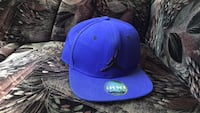 Blue and black fitted cap Toronto, M1B