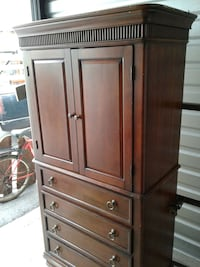 brown wooden wardrobe Columbia, 29212