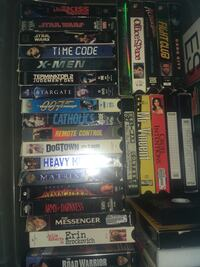 24 VHS movies in excellent condition with cases
