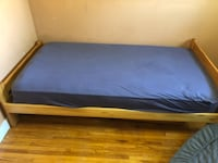 TWIN MATTRESS AND FRAME VANCOUVER