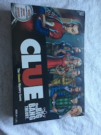 NEW Big Bang theory clue board game Des Plaines, 60016