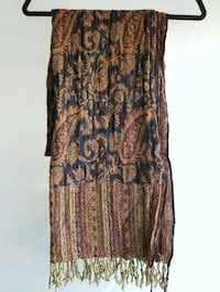 brown and black floral sleeveless dress Toronto, M5A 3R3