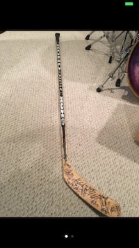 Capitals Hockey Stick (Signed by team) Chantilly, 20151
