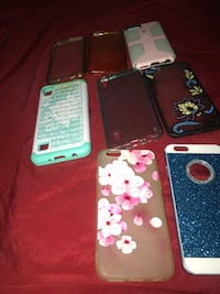 three assorted iPhone cases and two iPhone cases Kalamazoo, 49009