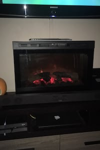 Electric fireplace! - gotta go ;)
