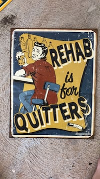 rehab is for quitters quote Pearl City, 96782