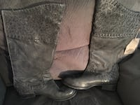 Corral by Buckle Distressed Leather Boots Womens Sz 11 Hudson, 01749