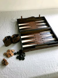 Backgammon Game.