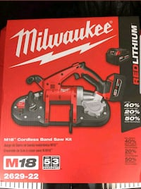 New Milwaukee bandsaw kit Arlington, 22204