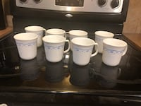 Set of 8 Corningware coffee cups Calgary, T3J 0J9